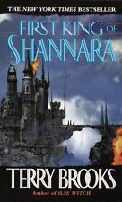 FIRST KING OF SHANNARA Terry Brooks FREE SHIPPING paperback book Shanara sword