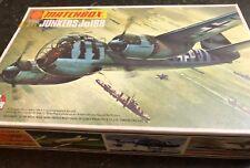matchbox 1/72 pk-109 junkers ju188 vintage model aircraft kit