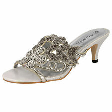 Women's Satin Slip On/Mules Sandals and Beach Shoes