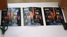 Star Wars United States Postal Service Press Sheet