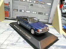 MERCEDES BENZ 300 CE-24 Cabriolet E-Klasse 1991 blau Minichamps Maxichamps 1:43