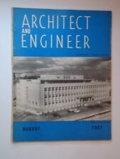 Aug 1951 Architect and Engineer Gleason Library University of San Francisco CA