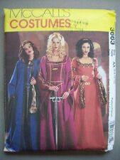 Can Can Saloon Moulin Rogue dress costume pattern 3674 size 6 8 10 12 unused