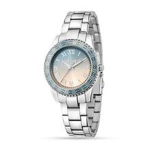 Just Cavalli Orologio Watch Senset R7253202511 Acciaio Azzurro Rosa Woman Uhr
