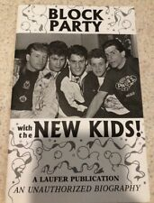 Block Party New Kids On The Block Unauthorized Bio Biography Vintage Book