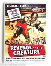 Revenge of the Creature FRIDGE MAGNET (2.5 x 3.5 inches) movie poster lagoon