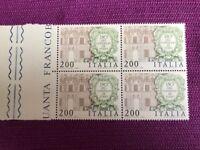 ITALIA 1981 QUARTINA 150° DELL'ISTITUZIONE DEL CONSIGLIO DI STATO MNH** LUSSO