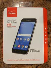 Verizon Samsung Galaxy J3 - 8 GB - Black Prepaid Smartphone SM-J320VLPP NEW