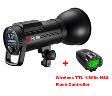 Jinbei HD-610 TTL HSS Mobile Battery Studio Strobe Flash + HSS Flash Controller