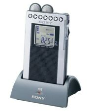 SONY Portable AM/FM radio SONY Stereo SRF-R433 Silver Japan Import With Tracking
