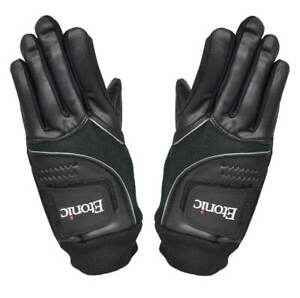 New Etonic Golf- Winter Gloves- Black *XXL*