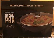 Ovente Sk3113B Non-Stick Electric Skillet with Aluminum Body, 13 Inch BRAND NEW!