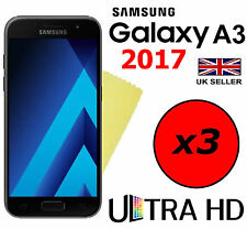 3x HQ ULTRA CLEAR HD SCREEN PROTECTOR COVER GUARDS FOR SAMSUNG GALAXY A3 2017