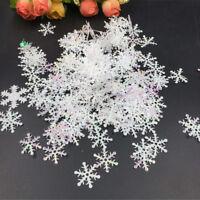 300Pcs/Pack DIY Snowflake Ornaments Christmas Holiday Party Home Decor Gif SE