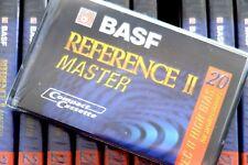 BASF REFERENCE II MASTER 20 HIGH BIAS TYPE II CHROME BLANK AUDIO CASSETTE TAPE