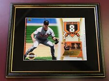 Cal Ripken Jr Auto 2003 UD Authentics Patch Framed Autograph SP/125 HOF Orioles