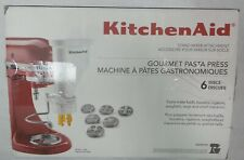 Kitchenaid KSMPEXTA Pasta Press Attachment Plastic w/ 6 Discs & Built In Cutter