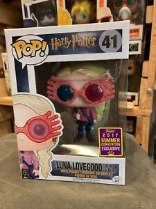 Harry Potter Luna Lovegood with Glasses SDCC 2017 US Excl 41 Funko Pop Vinyl