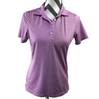 Peter Millar Womens Small Pink Short Sleeve Golf Polo Top