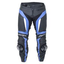 Pantalons bleus à doublure pour motocyclette