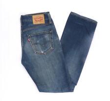 Levi's Levis Jeans 511 W32 L34 blau stonewashed 32/34 Straight -B1382