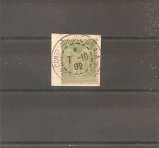 TIMBRE FRANCE FRANKREICH N°102 OBLITERE USED CONSTANTINOPLE GALATA TURKEY