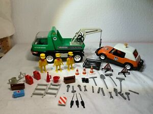 Playmobil System 3758 Abschleppwagen gut Ausgestattet Rarität