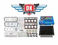 FORD 6.0 POWERSTROKE DIESEL ARP CYLINDER HEAD STUD KIT & HEAD GASKET SET 18mm