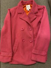 The Childrens Place Girls Pink Coat - Size Large 10/12
