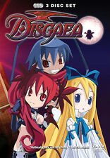 Disgaea . The Complete Series . Anime . 3 DVD . NEU . OVP