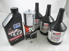 Harley-Davidson Sportster V-Twin Red Line Performance Oil Change Kit