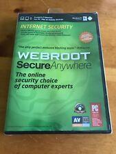 (5451) New WEBROOT Secure Anywhere - Internet Security 2011 - Windows 8/ MAC C