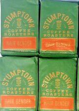 4 pack Stumptown Coffee Roasters Hair Bender Blend Whole Bean 12 Ounce (3 lbs)