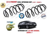 FOR CITROEN C4 B7 1.6 HDI DIESEL 2009 > NEW 2 X FRONT COIL SPRINGS SET