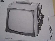 PANASONIC MITEY-9U MINI TELEVISION TV PHOTOFACT