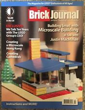 Brick Journal Building Small With Microscale Building Sept 2015 FREE SHIPPING!