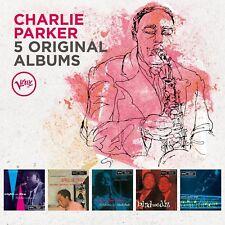 CHARLIE PARKER - 5 ORIGINAL ALBUMS 5 CD NEUF