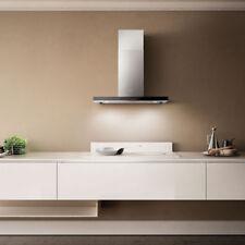 Cappa cucina Elica Horizonte EDS IX VTa 90cm Inox Vetro Silenziata Design Arredo