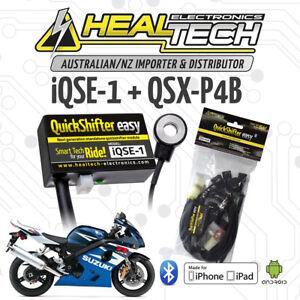 HealTech QuickShifter iQSE-1 + QSX-P4B Suzuki Harness ** Free Express Post **