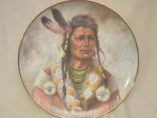 CHIEF JOSEPH collector plate GREGORY PERILLO Chieftain INDIAN Native RARE