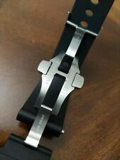 Panerai Deployment Clasp and Rubber watch strap
