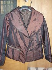 REBAJAS FREDA preciosa chaqueta cazadora mujer talla l 40,42,44 coat size 14 uk