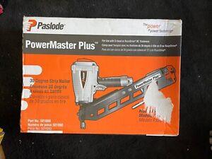 Paslode PowerMaster Plus 30-Degree Strip Nailer F350-S BRAND NEW