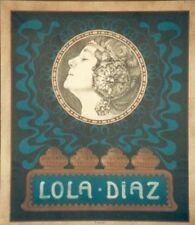 Original Plakat - Lola Diaz - Art nouveau