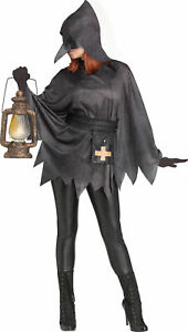 Plague Doctor Poncho Adult Womens Costume Accessory NEW One Size