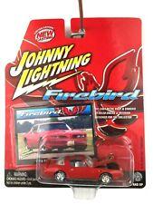 Johnny Lightning 1978 78 Pontiac Firebird Car Red Die Cast 1/64 Rubber Tires