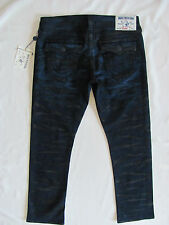 True Religion Ricky Straight Big T Jeans - Street Shadows- Size 38 -NWT $328