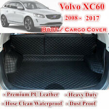 PU Leather Car Rear Trunk Boot Tray Protector Cargo Floor Mat For Volvo xc60
