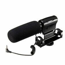 Nonsha Na-Q7 Stereo Microphone Camera Shotgun For Nikon canon Sony Olympus Fuji