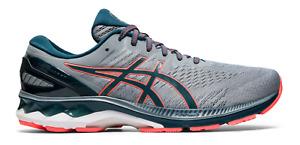 Men's Asics Gel-Kayano 27 Sheet Rock Blue Running Shoes Sizes 8-13
